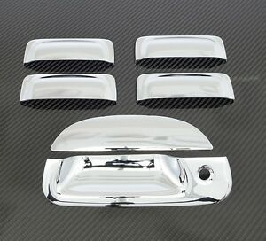 2001 2005 Ford Explorer Sport Trac 4dr Chrome Door Handle Tailgate Cover