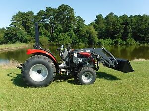 Tym 45 Hp 4x4 With Skid Steer Loader