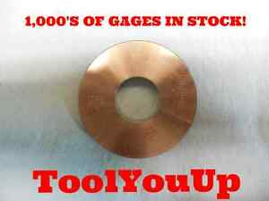 1 3 16 1 1 4 Over And Under Smooth Plain Bore Ring Gage D88 Brown