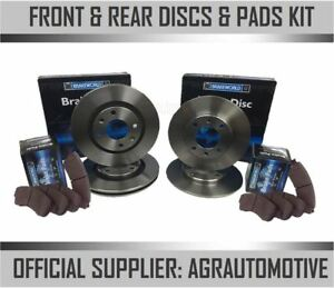 Oem Spec Front Rear Discs And Pads For Volvo V40 1 6 Td 2012