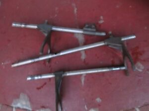 1956 Massey Harris 50 Gas Farm Tractor Transmission Shifting Shift Forks
