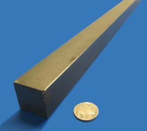 Square 1018 Steel Bar 1 0 Thick X 1 0 Wide X 36 Length 1 Pcs
