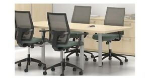 Quorum 7 Modern Rectangular Office Conference Table
