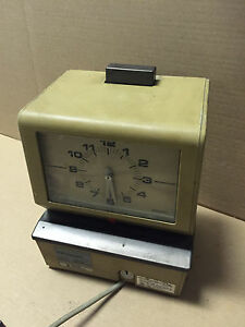 Amano 3600 Series Model 3636 Time Clock