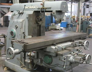 Cincinnati No 525 20 High Power Horizontal Milling Machine