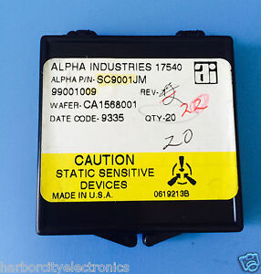 Sc9001jm Alpha Industries Capacitor Chip Rf Microwave Product 20 units Total