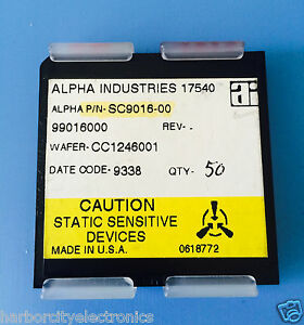 Sc9016 00 Alpha Industries Capacitor Chip Rf Microwave Product 50 units Total