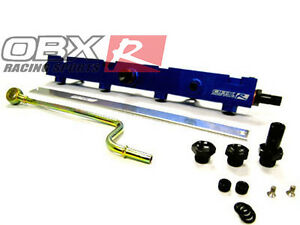 Obx Blue Fuel Rail For 2002 2006 Acura Rsx Honda Civic Si Hatch K20 2 0l I4