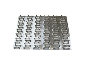 100 Ea 4 X 6 Truss Plate Mending Plate Nail Teeth Structural Connecting Plate