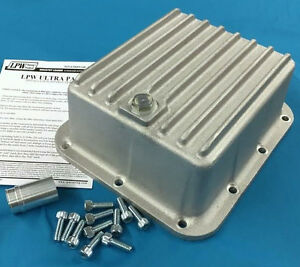 Ford C4 C5 Deep Transmission Pan Finned Aluminum 2 Quarts Case Fill 501 C4c