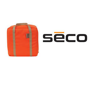 Seco 8082 00 org Super Jumbo Tall Triple Prism Bag For Topcon Leica Nikon