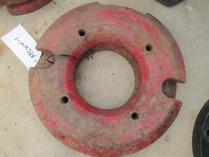 Massey Ferguson 205 410 510 Combine Tractor 65 lb Wheel Weight 241035m1 Mfcww 1