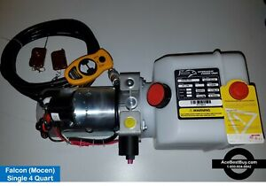 S2 Hydraulic 12v Gravity Down Pump Wired Wireless Remotes Industrial Duty
