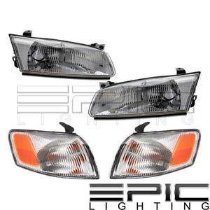 Corner Parking Signal Lights Head Lights For 1997 1999 Toyota Camry Combo Set