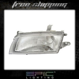 Fits 1997 98 Mazda Protege Headlight Headlamp Left Driver Only