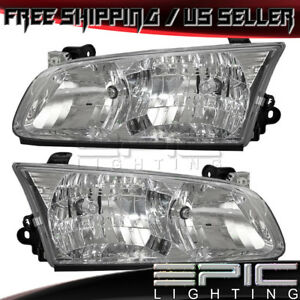 2000 2001 Toyota Camry Headlights Headlamps Left Right Sides Pair
