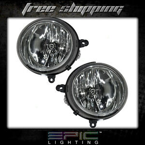 Fits Jeep Compass Patriot Headlights Headlamps Pair Left Right Set