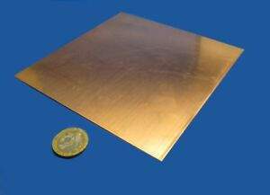 110 Copper Sheet Soft Annealed 043 Thick X 6 0 Wide X 6 0 Length