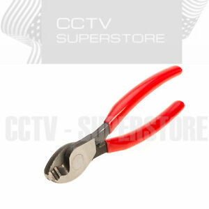 6 Inch Cable Cutter Plastic Handle Electric Wire Stripper Cutting Plier Tool 6