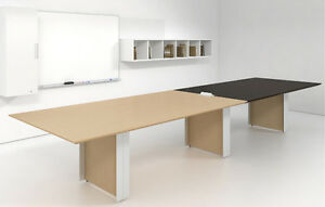 Quorum 12 Modern Rectangular Office Conference Table