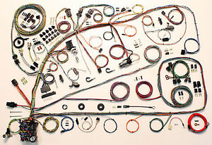 1966 67 Ford Fairlane Mercury Comet American Autowire Wiring Harness