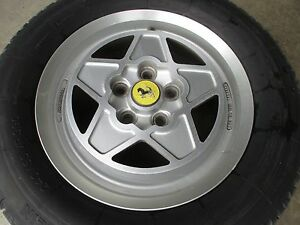 Ferrari Mondial Wheel Rim Cromodora And Tire 180 Trx 390 118147