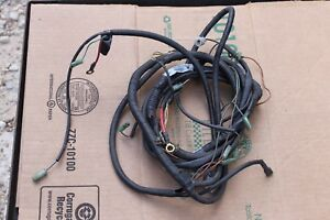 Farmtrac Wiring Harness D10115530 a Acquired From A Closed Distributor