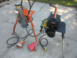 Roll Groover 2 To 6 With Victaulic Pct ii Prep Machines Ridgid Grooving Nice