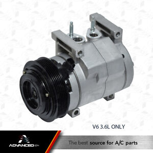 Ac A c Compressor Fits 2011 2012 2013 Chrysler 300 V6 3 6l Only