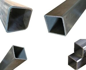 316 316l Stainless Steel Square Tube 1 1 2 Sq X 120 Wall X 36 Inch Length