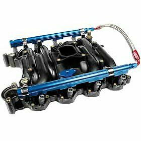 Professional Products 10605 Fuel Rail Aluminum Blue Anodized Ford 4 6l Kit