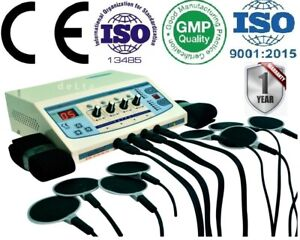Home Use 4 Channel Electrotherapy Machine Pulse Massager New Professional Uugf