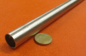 304 Stainless Steel Tube Metric 20 Mm Od X 18 Mm Id X 1 Mm Wall X 3 Foot Length