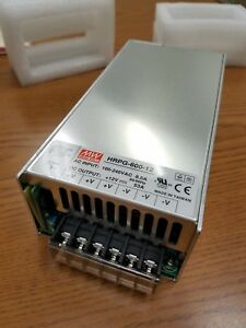 Mean Well Hrpg 600 12 Ac dc Power Supply Single out 12v 53a 636w 19 pin New