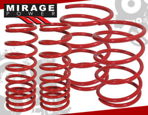 2001 2005 Honda Civic Hx Gx Ex Dx Lx Drop Red Suspension Lowering Sport Springs