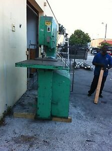 Doall Vertical Electric Band Saw 36 X 10 Heavy Duty