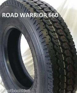 10 tires 11r22 5 Road Warrior New 2 Steer And 8 Drive Tires 16 Ply Lr h