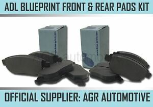 Blueprint Front And Rear Pads For Toyota Starlet 1 3 Turbo Ep82 1989 96