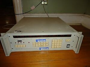Wavetek Datron Ehe 1560 Programmable Wave Pulse Generator 100 Mhz Test Equipment
