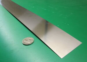 304 Stainless Steel Sheet Shim 025 00100 X 2 0 X 10 Foot Length