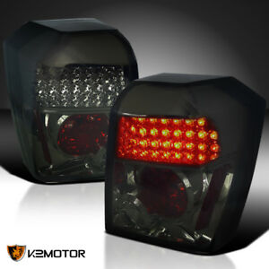 2007 2012 Dodge Caliber Se Sxt R t Smoke Led Tail Lights Lamps Left right