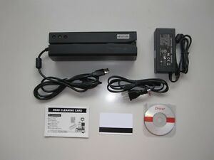 Msr606 Magnetic Stripe Credit Card Reader writer Encoder Swipe Magstripe