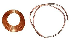 Copper Tubing Alloy 122 1 Od X 870 Id X 065 Wall X 10 Ft Coil
