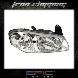 Fits 2000 01 Nissan Maxima Headlights Headlamps Right Passenger Only