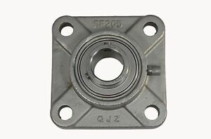 Ssucf205 16 Sucsf205 16 1 Stainless Steel 4 Bolt Flange Block Bearing Unit