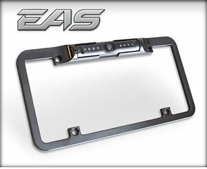 Edge 98202 Black Metal Back Up Camera License Plate Mount For Use With Cts Cts2