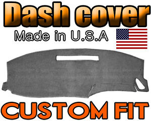 Fits 2000 2006 Chevrolet Monte Carlo Dash Cover Dashboard Mat Charcoal Grey