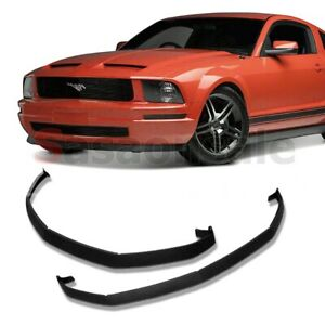 Fit For 05 09 Ford Mustang V6 Cdc Front Lower Valance Pu Bumper Spoiler Lip