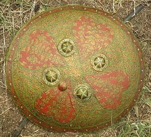 Antique Shield Or Dhal From India