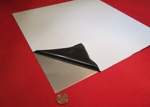 316 Stainless Steel Sheet Annealed 024 Thick X 12 Wide X 12 Length 1 Unit